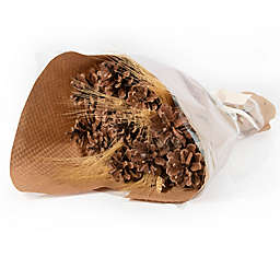 Bee & Willow™ 35-Inch Pinecone Wheat Bouquet in Brown