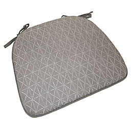 Simple Essential™ Modern Foam Chair Pad in Taupe