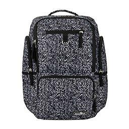 Bananafish Adrian Backpack Diaper Bag in Black