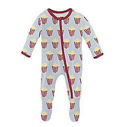 KicKee Pants® Popcorn Footed Pajama in Blue