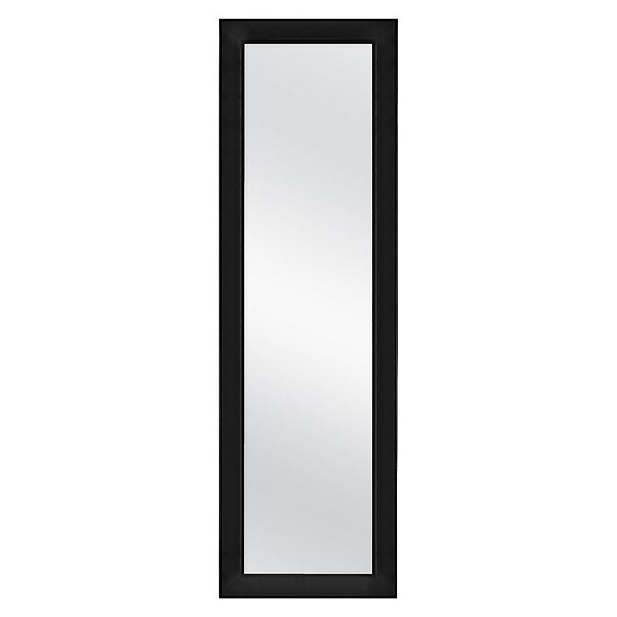 Alternate image 1 for Simply Essential™ 52-Inch x 16-Inch Rectangular Over-the-Door Mirror