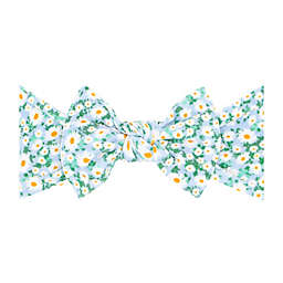 Baby Bling® Floral Print Knot Headband in Daisy