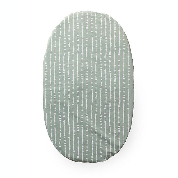 Alternate image 1 for 4moms® MamaRoo Sleep™ Waterproof Bassinet Sheet in Sage