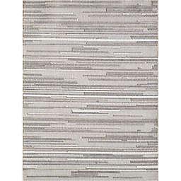 KAS Calla Denni 6'7 x 9' Area Rug in Grey