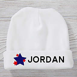First 4th of July Personalized Baby Hat