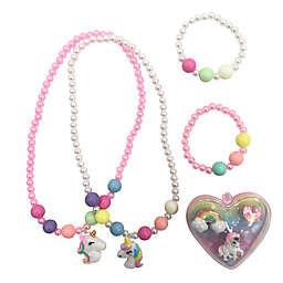 Danbar 7-Piece Unicorn Jewelry Set