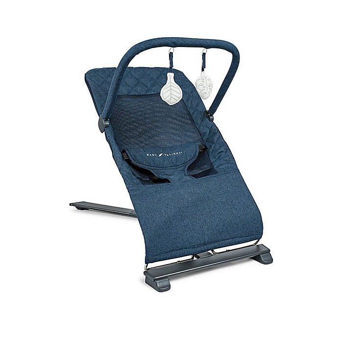 Alternate image 1 for Baby Delight® Alpine Deluxe Portable Bouncer in Indigo