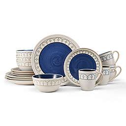 Pfaltzgraff® Remi 16-Piece Dinnerware Set in Blue<br />