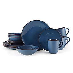 Pfaltzgraff® Pierce 16-Piece Dinnerware Set in Blue
