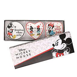 Disney® 3-Piece Mickey and Minnie Mouse Mini Trinket Tray Set