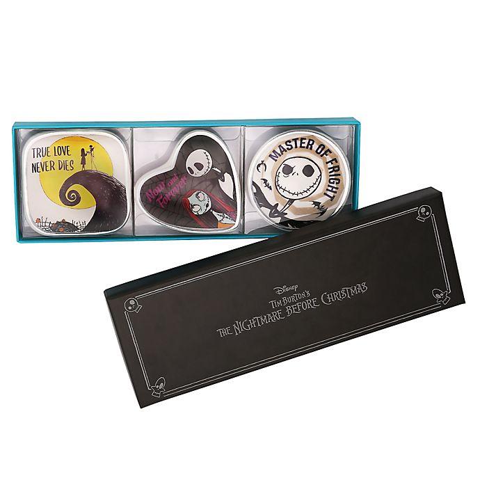 Alternate image 1 for Disney® 3-Piece The Nightmare Before Christmas Mini Trinket Tray Set