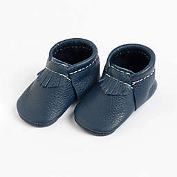 Freshly Picked The First Pair Size 6W-6M Moccasin in Navy