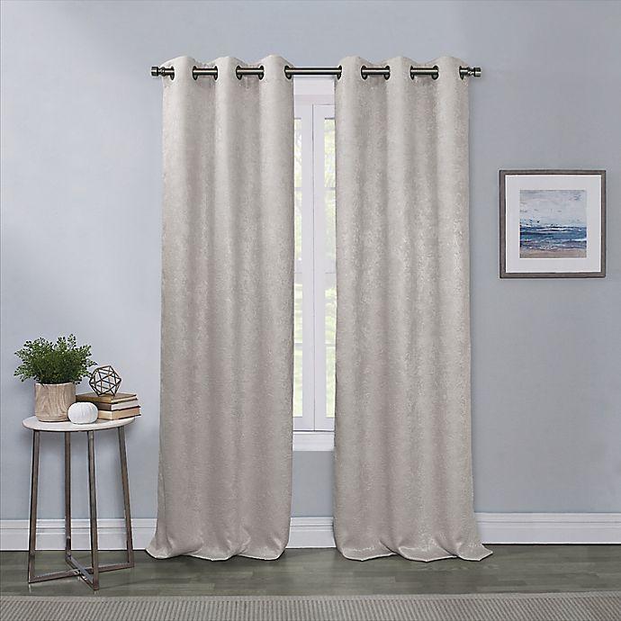 Alternate image 1 for Artesia 63-Inch Grommet Blackout Window Curtain Panel in Grey (Single)