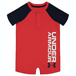 Under Armour® Size 9-12M Champ Shortall in Red