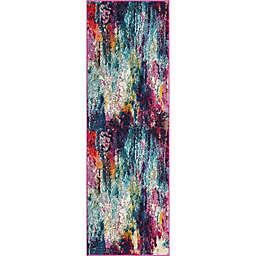 Unique Loom Sunset Spectrum 2'2 x 6' Runner