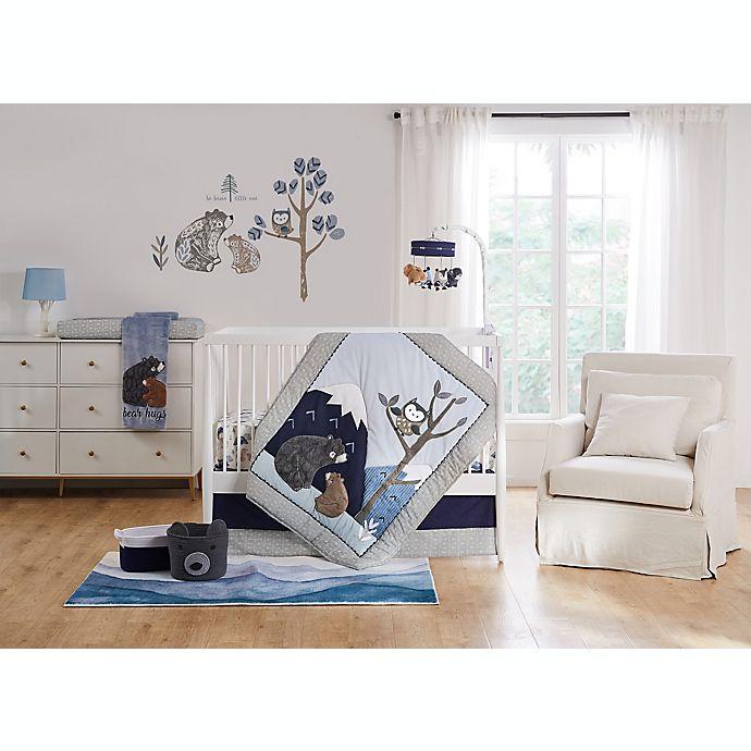 Alternate image 1 for Levtex Baby® Rowan 5-Piece Crib Bedding Set in Grey