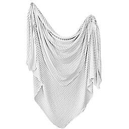 Copper Pearl™ Everest Knit Swaddle Blanket in Grey