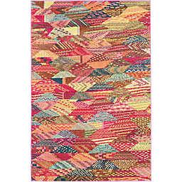 Unique Loom Rainier Sedona 4' x 6' Multicolor Area Rug
