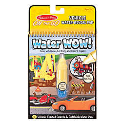 Melissa and Doug® Water Wow!® 2-Piece Vehicle Water Reveal Pad