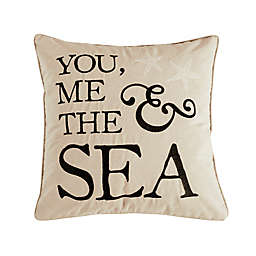 "Levtex Home Cerralvo ""You Me Sea"" Throw Pillow"