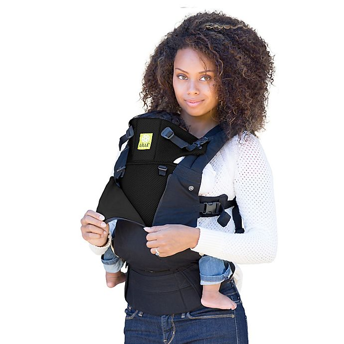 Alternate image 1 for lillebaby® COMPLETE™ ALL SEASONS Baby Carrier in Black