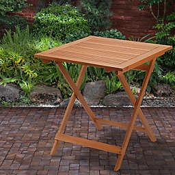 Eucalyptus Grandis Wood Folding Table in Natural