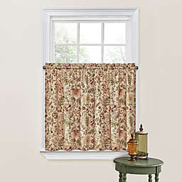 Waverly® Imperial Dress Rod Pocket Window Curtain Tier Pair (Set of 2)