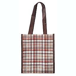 ACT Plaid Small Reusable Tote Bag
