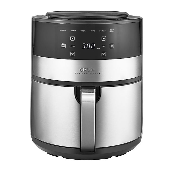 Alternate image 1 for CRUX® Artisan Series 4.6 qt. Air Fryer with Touchscreen in Grey