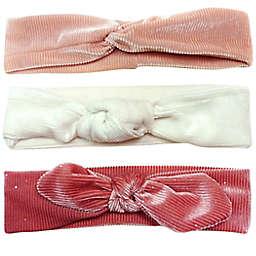 Tiny Treasures 3-Piece Corduroy Stretch Headwrap Set