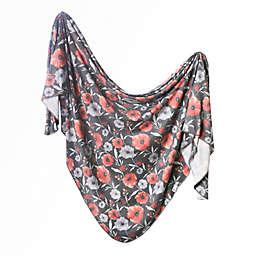 Copper Pearl™ Poppy Knit Swaddle Blanket in Brown