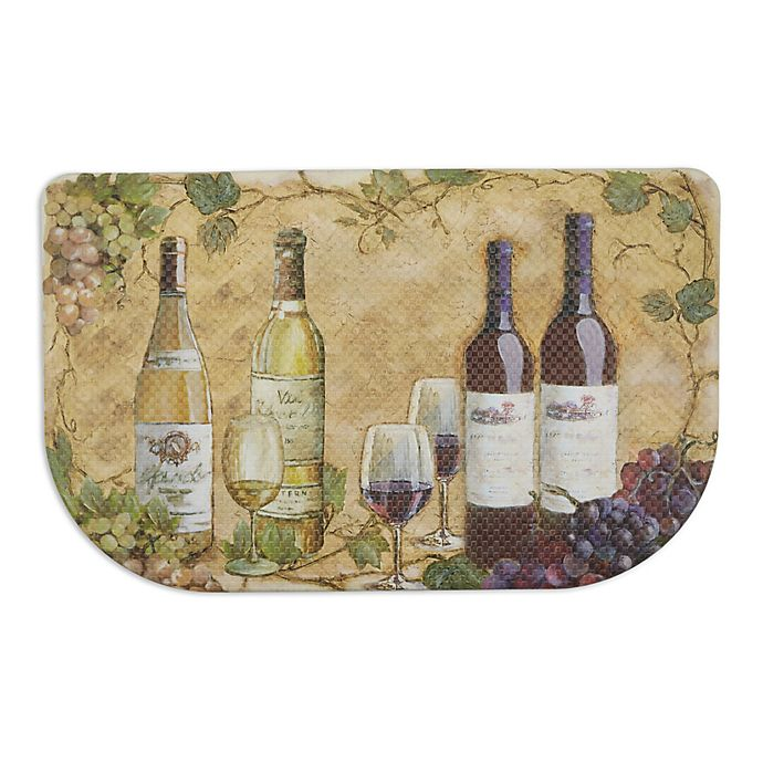 Alternate image 1 for Home Dynamix Dumont Wine 31.5-Inch x 19.6-Inch Kitchen Slice Mat