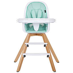 Evolur Zoodle 3-in-1 High Chair and  Booster Feeding Chair