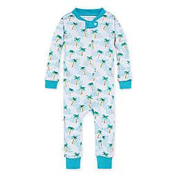 Burt's Bees Baby® Palm Beach Footless Pajama in Ocean
