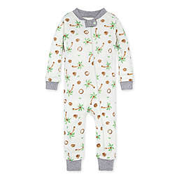 Burt's Bees Baby® Coco-Nuts Organic Cotton Footless Pajama in Heather Grey