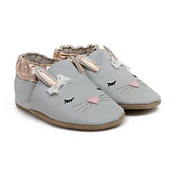 Ro+Me by Robeez® Size 12-18M Heart Bunny Casual Shoe in Grey