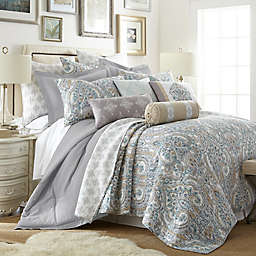 Levtex Home Rome 2-Piece Twin Quilt Set in Grey