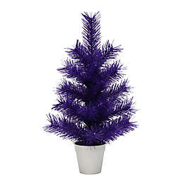 H For Happy™ 1.5-Foot Tabletop Christmas Tree in Purple