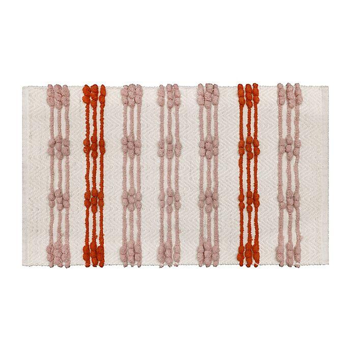 Alternate image 1 for Wild Sage™ Woven Stripe Bath Rug