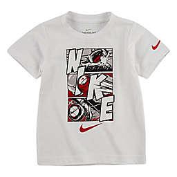 Nike® Comic Panels Short Sleeve Shirt in White