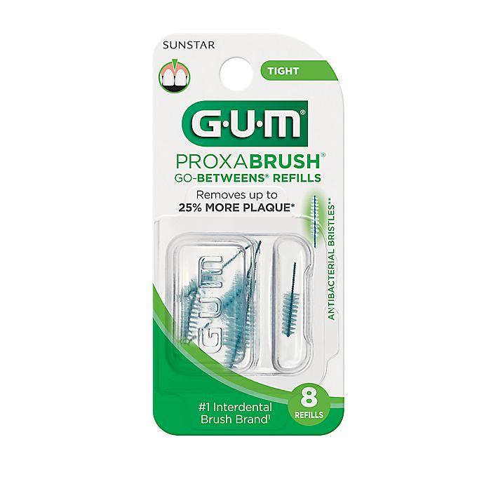 Alternate image 1 for GUM Go Between 8-Count Tight Proxabrush Refills