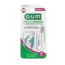 Sunstar GUM® Go-Betweens® 8-Count Moderate Proxabrush® Refills