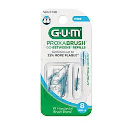 Sunstar GUM® Proxabrush® Go-Betweens® 8-Pack Wide Refills