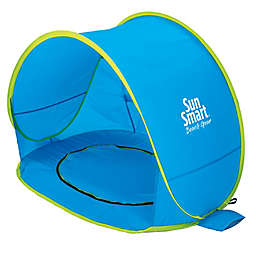 Sun Smart Pop-Up 2-in-1 Shelter and Pool in Blue/Yellow