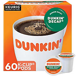 Dunkin' Donuts® Decaf Coffee Keurig® K-Cup® Pods 60-Count