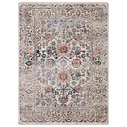 Concord Global Trading Cassandra Traditional 3'3 x 4'7 Area Rug in Ivory