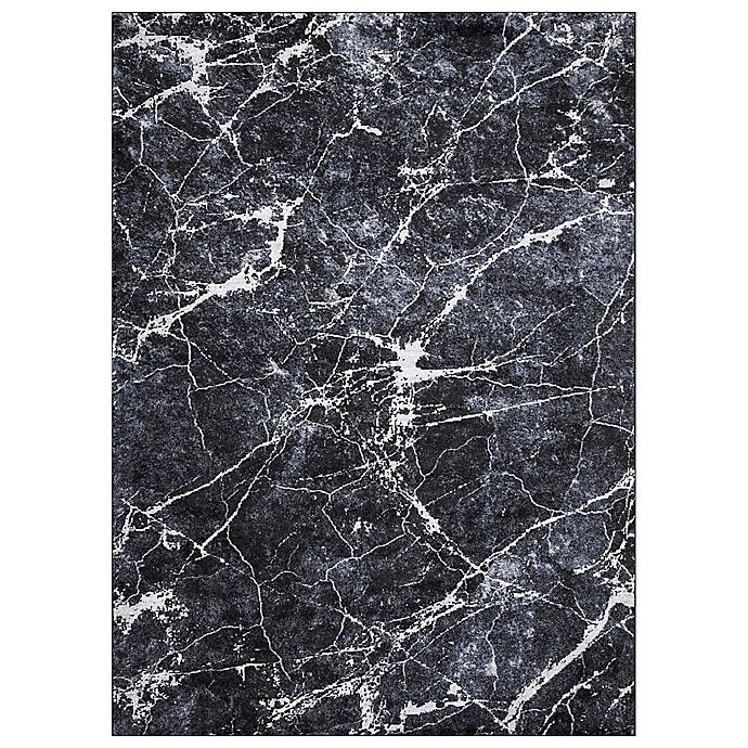 Alternate image 1 for Concord Global Trading Napoli Abstract Rug in Anthracite