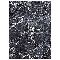 Concord Global Trading Napoli Abstract Rug in Anthracite