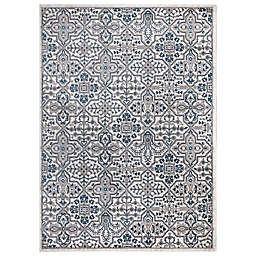 Concord Global Trading Jefferson Athens 7'10 x 9'10 Area Rug in Ivory