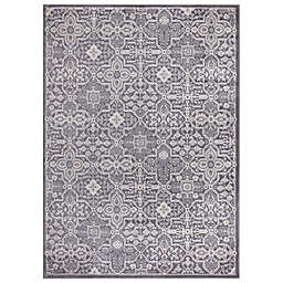 Concord Global Trading Jefferson Athens 5'3 x 7'3 Area Rug in Grey